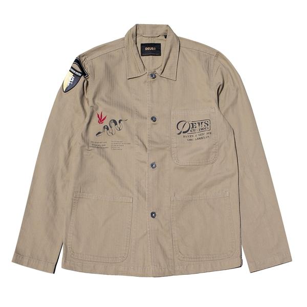 DEUS|男 Fatigue Hbt Overshirt 襯衫外套