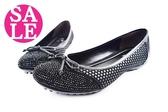 真皮女鞋 台灣製 氣質韻味 休閒鞋 包鞋 零碼出清 C4840#黑色◆OSOME奧森鞋業