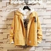 牛仔外套牛仔夾克男裝韓版潮流寬鬆冬棉衣百搭工裝日系機能外套春秋裝上衣 新品