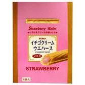 EURO草莓威化棒100g【愛買】