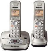 電話機 鬆下 數字無繩電話機 辦公子母機 家用無線座機 固定座機一拖一  美物 99免運