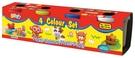 Doh-Dough多多樂黏土 基本補充包4色 TOYeGO 玩具e哥