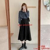 大碼女裝半身連身裙子氣質時尚兩件套秋季【CH伊諾】