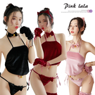 粉紅拉拉【PEG2064】七件式角色扮演 我的寵物情人 貓女郎 性感裸背 性感睡衣 情趣內衣