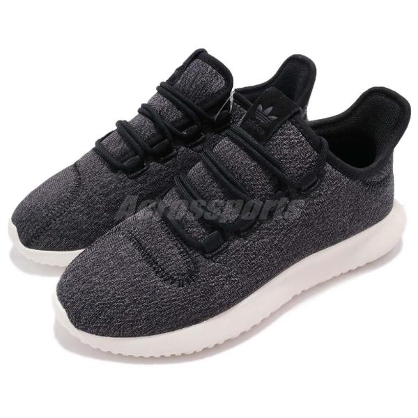 【四折特賣】adidas 休閒鞋 Tubular Shadow W 黑 白 復古奶油底 小350 必備款 運動鞋 女鞋【PUMP306】 CQ2460