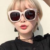 太陽鏡 復古方框墨鏡 顯瘦大框眼鏡【非凡上品】z342