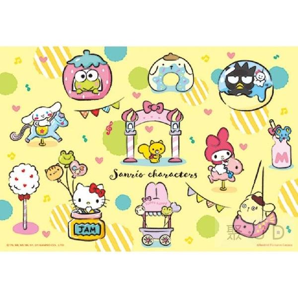 【台製拼圖】HP0300S-193 Sanrio characters 奇幻樂園 (300片)