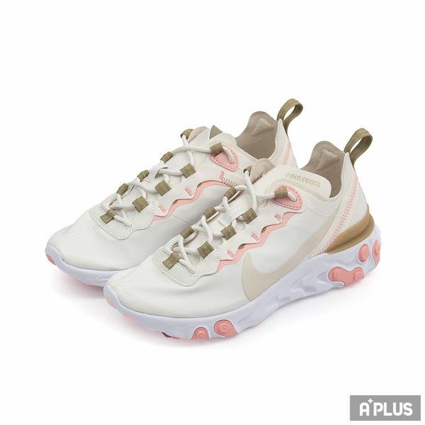 NIKE 女 W NIKE REACT ELEMENT 55 慢跑鞋 - BQ2728007