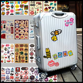 彼兔 betwo.貼紙 PID*多款可愛塗鴉插圖A4大小行李箱裝飾防水貼紙【133-AI62】06990555