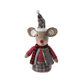 聖誕老鼠擺飾30cm