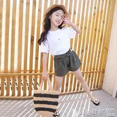 短褲 夏裝女童短褲兒童中大童韓版寬鬆熱褲女孩全棉洋氣休閒褲   寶貝計畫