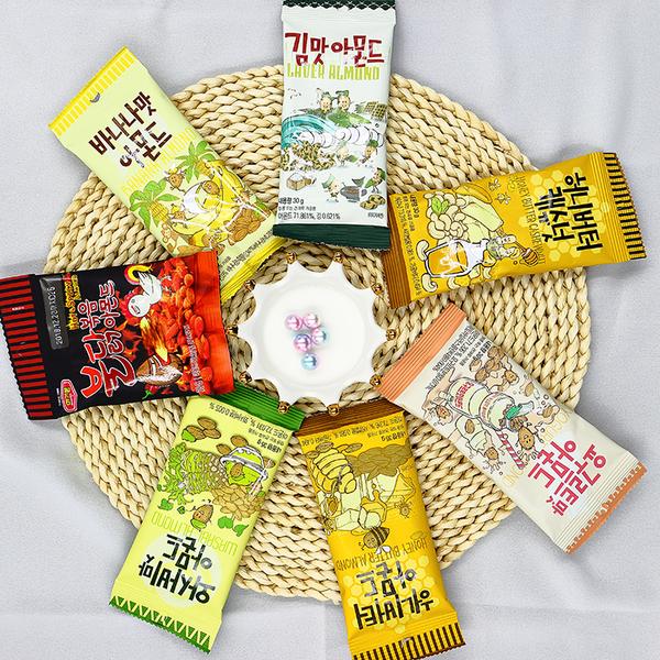 韓國 Toms Gilim 蜂蜜奶油/芥末/香蕉/海苔/養樂多/蜂蜜奶油/火辣雞/焦糖 杏仁果/腰果【庫奇小舖】
