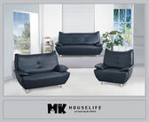 【MK億騰傢俱】AS030-09黑色沙發組