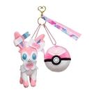 寶可夢 仙子精靈 娃娃吊飾 甜蜜球 鑰匙圈 BALL FREAK 日本正版 該該貝比日本精品