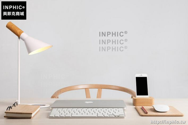 INPHIC- 北歐創意鐵藝檯燈現代簡約臥室床頭燈時尚個性鐵藝檯燈-B款_S197C