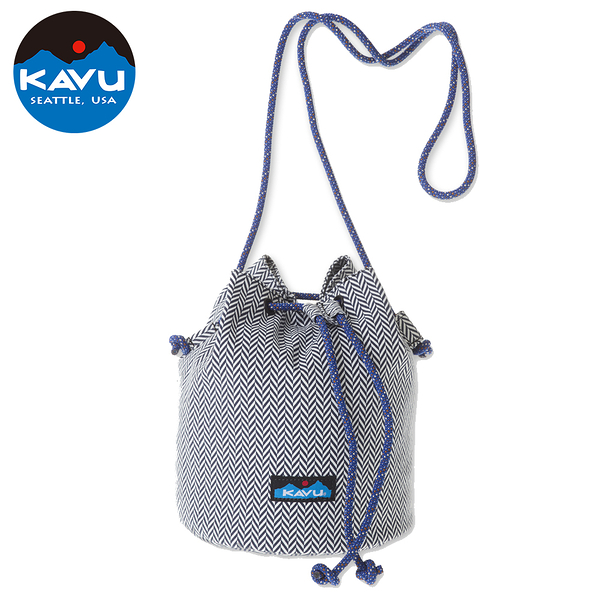 【西雅圖 KAVU】BUCKET BAG 水桶側背包  人字紋  #9102