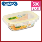 (特價出清) 韓國 KOMAX 輕透Tritan長形保鮮盒590ml 72505【AE02282】99愛買小舖