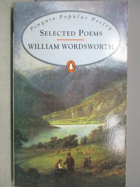 【書寶二手書T1/原文小說_MBW】Wordsworth_Selected Poems