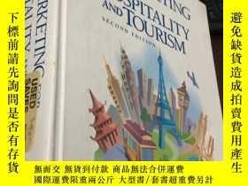 二手書博民逛書店MARKETING罕見FOR HOSPITALITY AND TOURISM (SECOND EDITION)