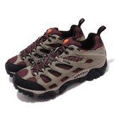 Merrell 戶外鞋 Moab 運動鞋 Gore-Tex 防水 透氣 越野 卡其 紅 黑 休閒鞋 女鞋【PUMP306】 ML57750