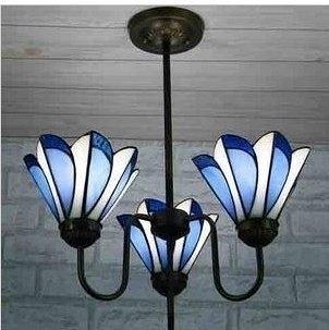 設計師美術精品館廠家直銷量大從優Tiffany lamp 吧臺吊燈 餐吊燈 帝凡尼三聯吊燈