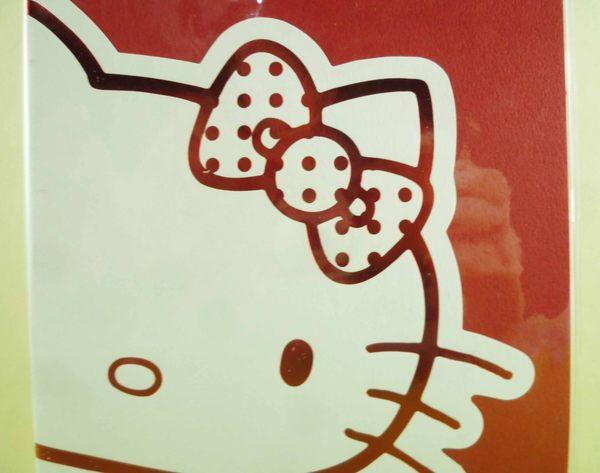 【震撼精品百貨】Hello Kitty 凱蒂貓_手冊套-紅白
