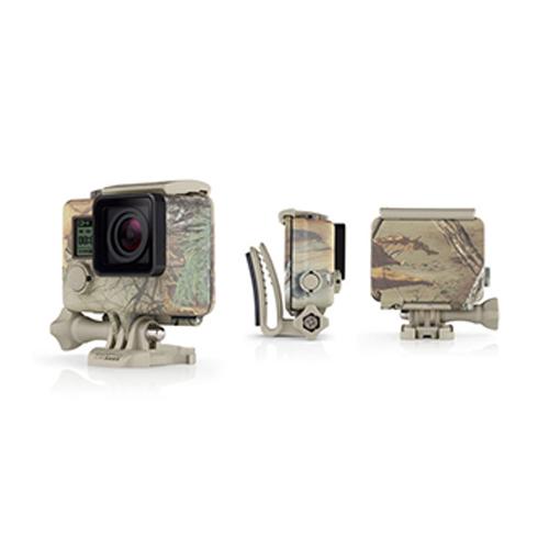 GoPro 40米 防水 潛水殼 偽林地迷彩保護殼 AHCSH-001