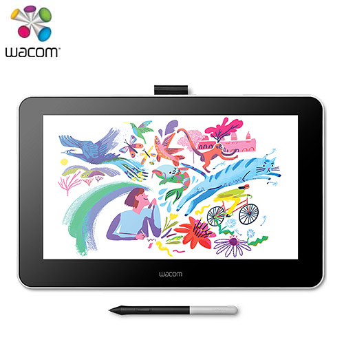 Wacom One Creative Pen Display 創意手寫繪圖液晶螢幕【送上課券/HDMI轉接器】