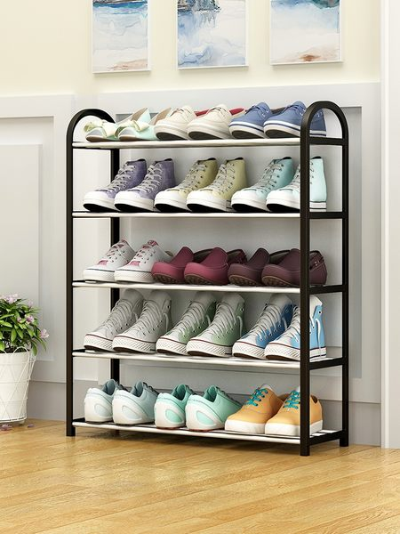 鞋架 五層鞋架 多層簡易家用經濟型宿舍女鞋櫃收納省空間防塵置物架小鞋架子 全館8折