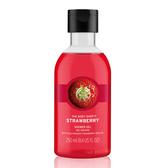 【THE BODY SHOP】草莓嫩白沐浴膠250ml