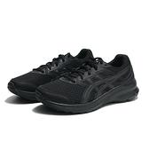 ASICS 慢跑鞋 JOLT3 4E 超寬楦 輕量 緩震 全黑 男 (布魯克林) 1011B041002
