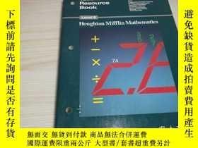 二手書博民逛書店Teacher s罕見Resource Book 6Y16192