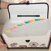 文件袋 學生A4風琴包 手提試卷夾 文件夾票據袋 收納公文包 資料包 降價兩天