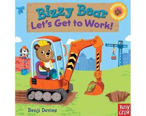 Bizzy Bear:Let's Get to Work! 工程車熊熊新奇操作書(美國版)