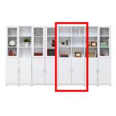 艾美白色2.7尺二門書櫃(18HY2/A500-04)【DD House】