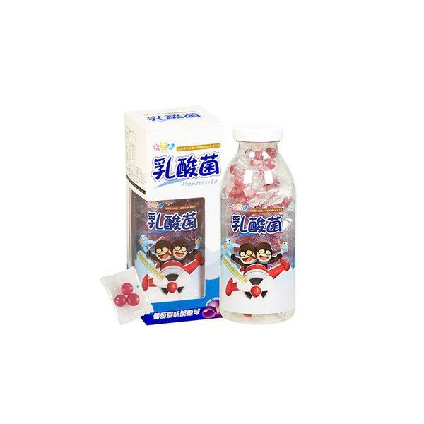 益兒健乳酸脆糖球120G【瑞昌藥局】014994 益生菌 4億乳酸菌+鈣