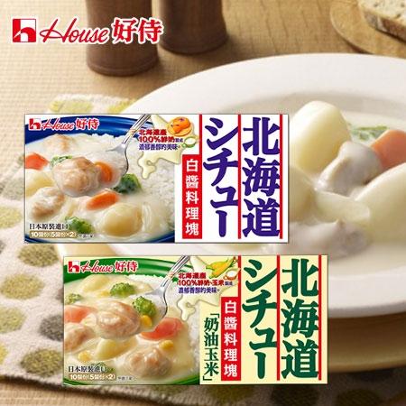 日本 好侍 北海道白醬料理塊 180g 奶油 奶油玉米 白醬 料理塊 濃湯塊 調味醬