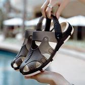 洞洞鞋夏季 沙灘鞋男涼拖韓版涼拖鞋 防滑 涼鞋包頭 拖鞋兩用半拖【熱銷88折】