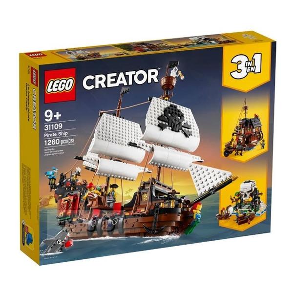 31109【LEGO 樂高積木】創意大師 Creator 系列-海盜船