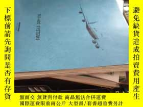 二手書博民逛書店747-400罕見system (波音系統,12開英文原版)Y1