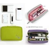 LRYX箱包 化妝袋-松鼠刺繡多隔層多用途女防水袋6色