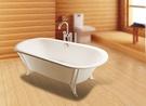 【麗室衛浴】日本TOTX 高級獨立式鑄鐵浴缸 FBY1826CPW 客戶訂購後裝不下