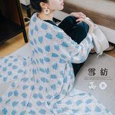 哈韓孕媽咪孕婦裝*【HA5874】葉子圖騰開襟雪紡長版外套.罩衫
