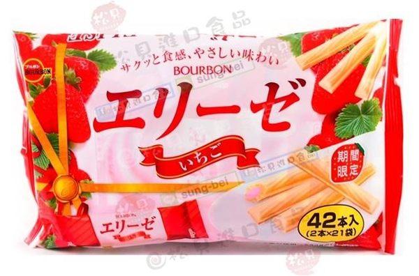 《松貝》北日本愛麗絲威化餅(草莓)152g【4901360318865】bc80