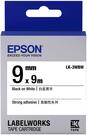 LK-3WBW EPSON 標籤帶 (白底黑字/9mm) C53S653410