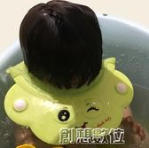 兒童洗頭帽防水護耳1-10歲硅膠寶寶洗澡頭帽嬰兒洗頭髪神器小孩     創想數位