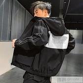 男士外套春秋季2020新款韓版潮流寬鬆休閒百搭上衣服 工裝夾克  牛轉好運到