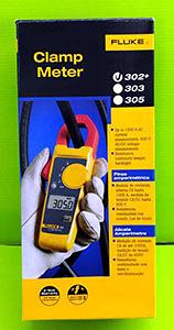 (台灣公司貨) FLUKE  福祿克交流鉗形電流錶 F302+ FLUKE-302+/EM ESP