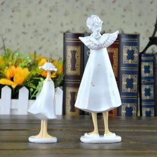 田園風創意樹脂擺件/美麗守護天使樹脂娃娃