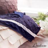 內褲 Ladoore 光感美姬 高質感精品無痕歐式小褲(藍)